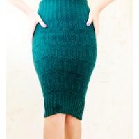Мастер-класс вязания юбки спицами