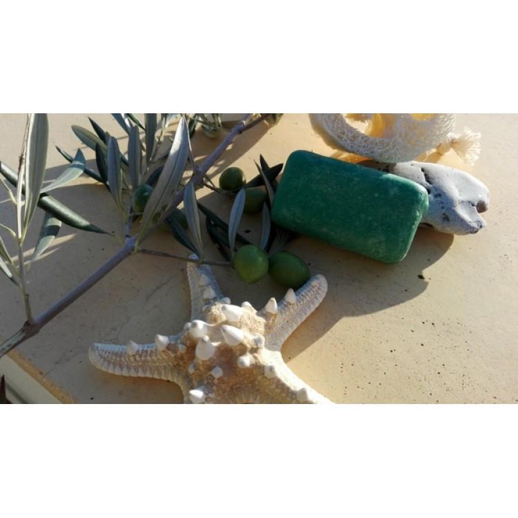 Натуральное мыло с маслом опунции от морщин Марокко