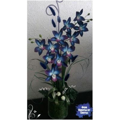 мастер класс по изготовлению орхидеи дендробиум.