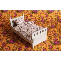 Кроватка односпальная для кукол 15 см