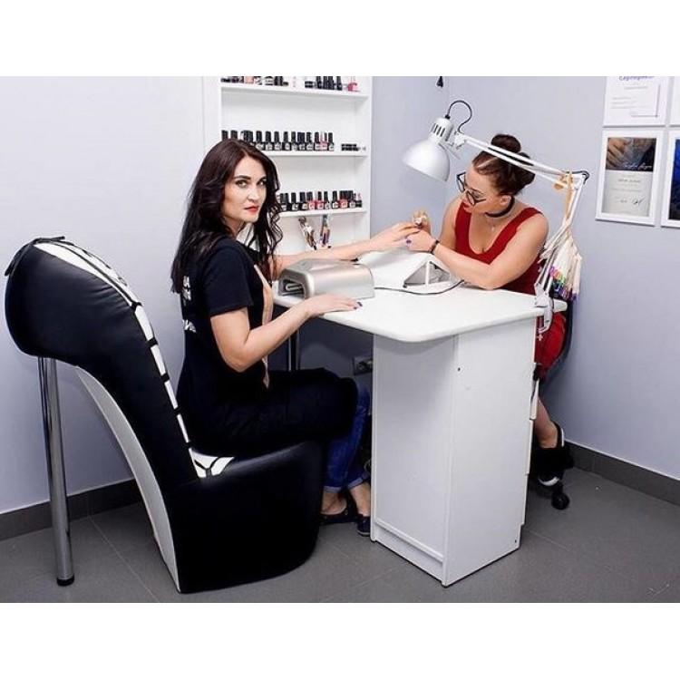 Кресло туфельки (стул каблучок)