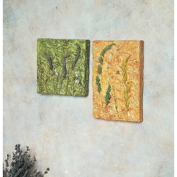 Диптих панно для интерьера Botanika