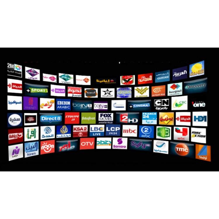 Телевидение IPTV Базовый Пакет за 1000 рублей/12 месяцев